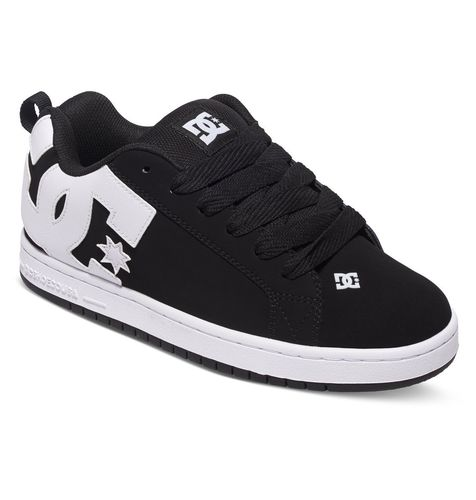 DC Men's COURT GRAFFIK BLACK