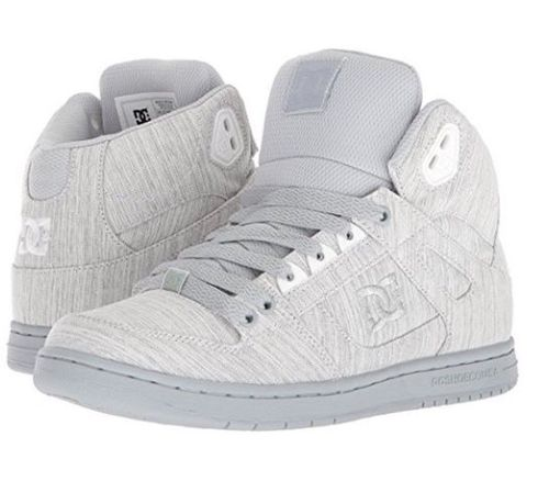 DC Women's PURE High Top TX SE Grey