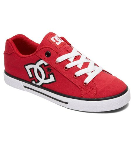 DC CHELSEA TX RED/WHITE SHOES