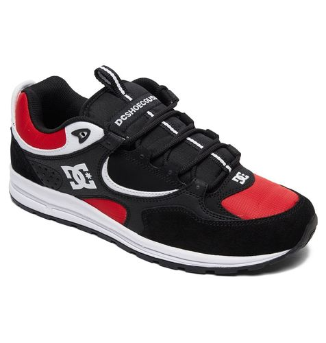 DC KALIS LITE BLACK / ATHLETIC RED / WHITE SHOES