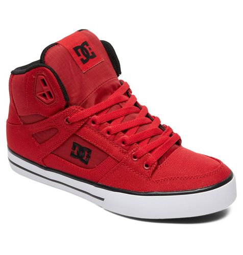 DC PURE HT WC TX SE RED SHOES