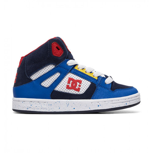DC PURE HT SE NAVY / RED SHOES