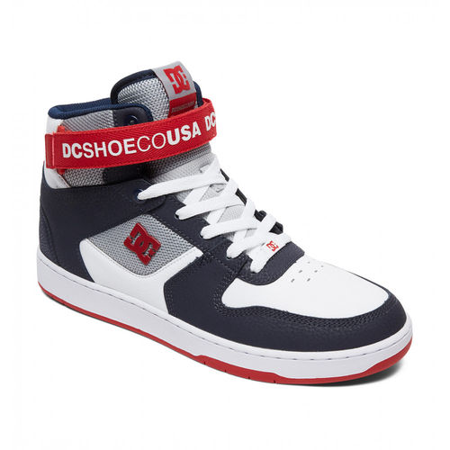 DC PENSFORD WHITE / NAVY / RED SHOES