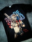 Black Timber Suicide Harley Quinn T-Shirt