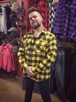 LuckyAki's Black & Yellow Flannel