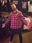 LuckyAki's Pink Flannel