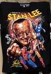 Black Timber Stan Lee T-shirt