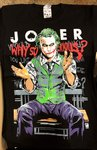 Black Timber Why So Serious? T-Shirt